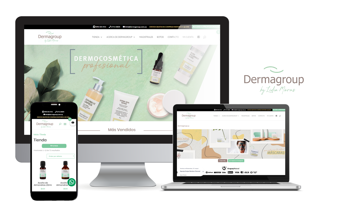 Desarrollo E-Commerce Dermagroup