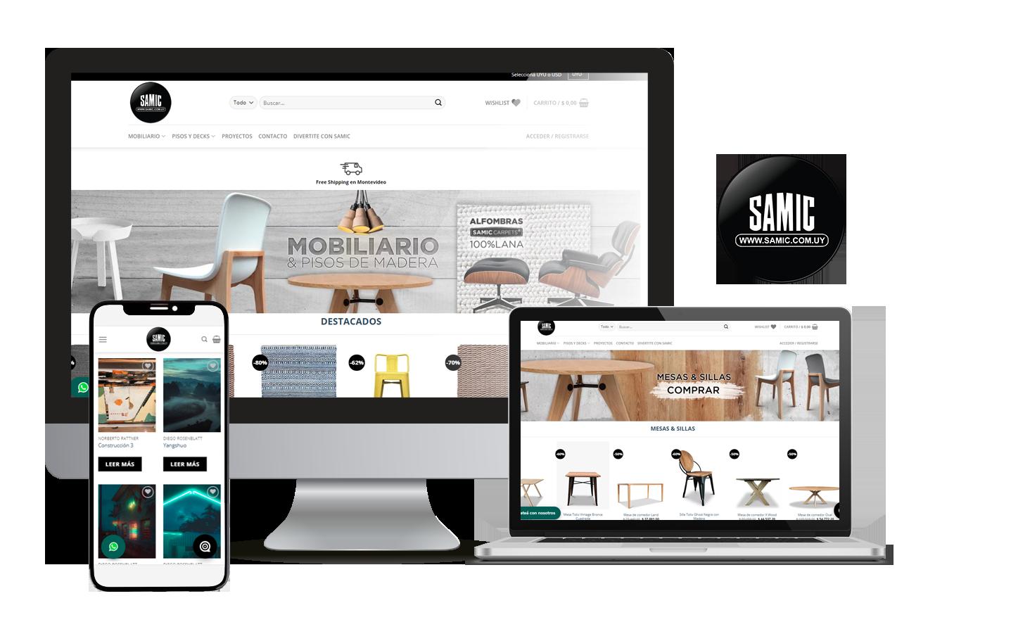Desarrollo E-Commerce Samic
