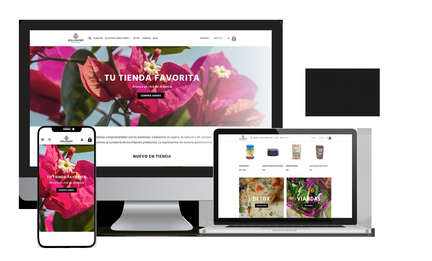 Desarrollo E-Commerce Delishop