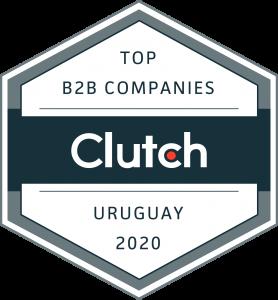 Insignia Mejor Compañia de Marketing Digital Clutch