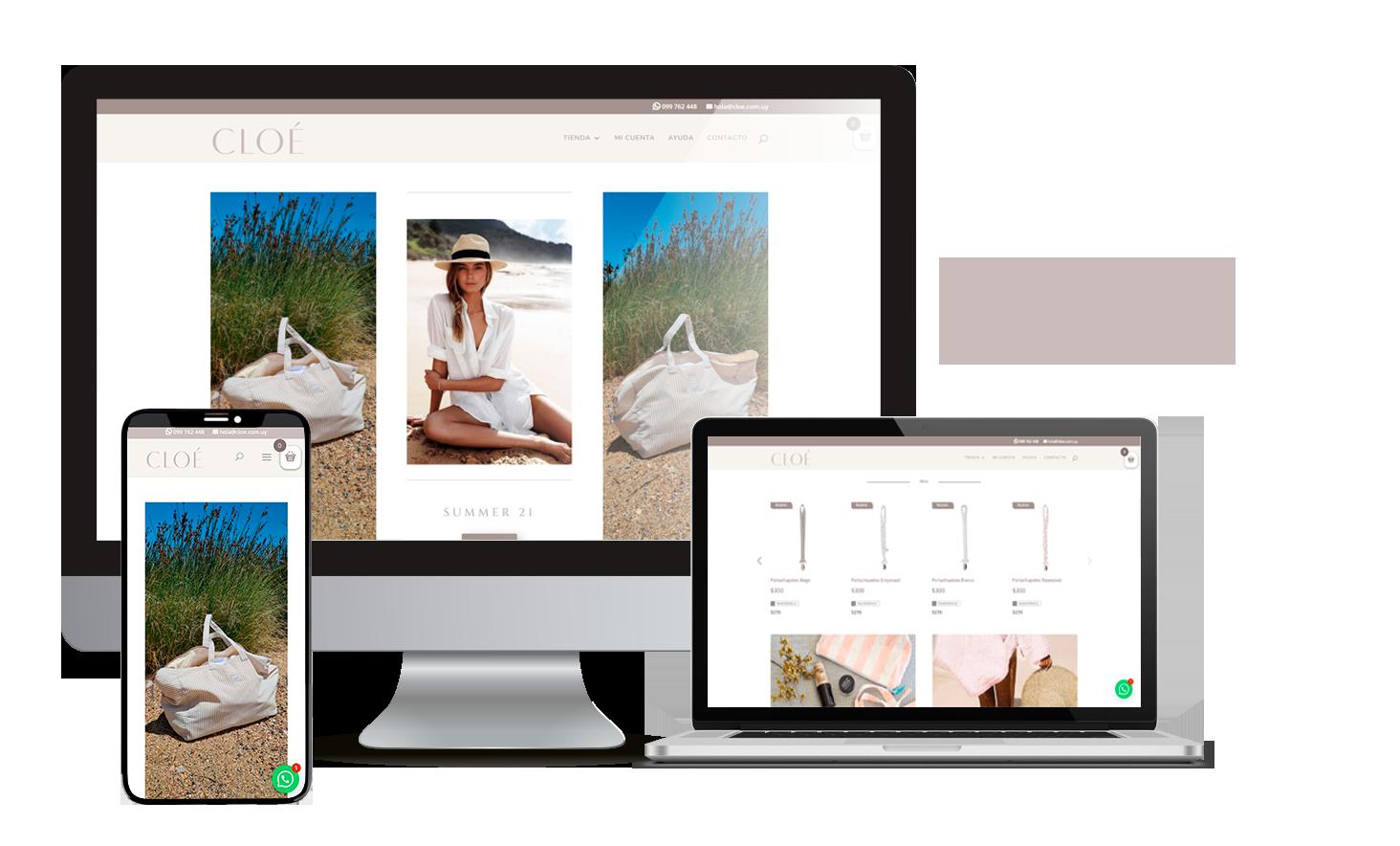 Desarrollo E-Commerce Cloe