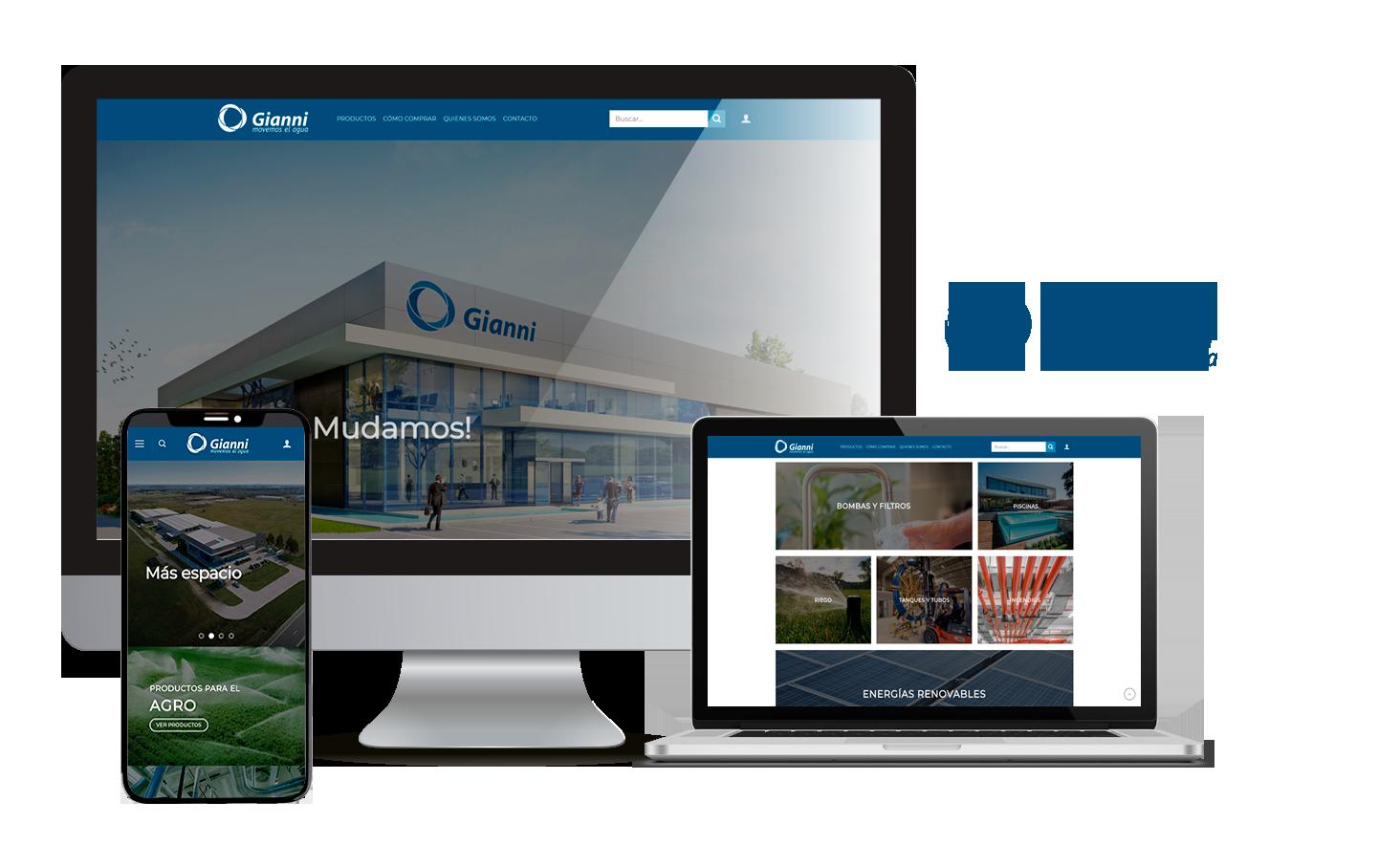 Desarrollo E-Commerce Gianni
