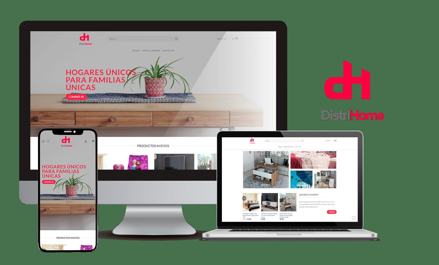 Desarrollo E-Commerce DistriHome